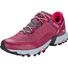 SALEWA Speed Beat GTX Zapatillas Mujer, red plum/rose red